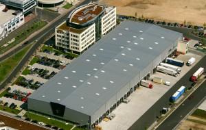 DHL Flughafen FRA - Luftbild 110x70 mm